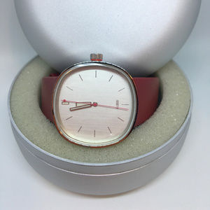 Brand New Alessi Watch AL5003 30 Meters Stainless